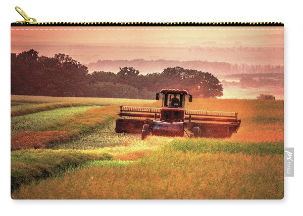 Swathing On The Hill Carry-all Pouch