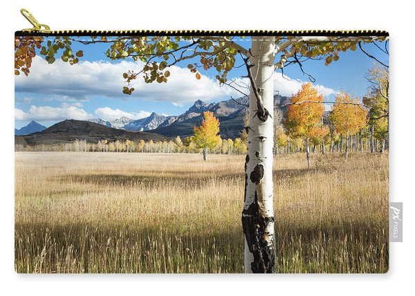 Through The Aspen Trees Carry-all Pouch