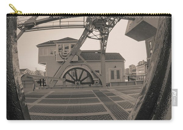 Through The Gear In Mystic Ct Carry-all Pouch