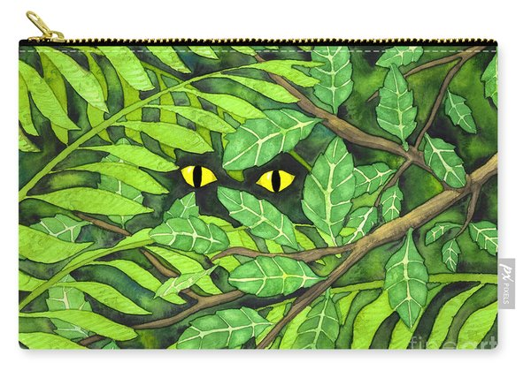 Through The Leaves Carry-all Pouch