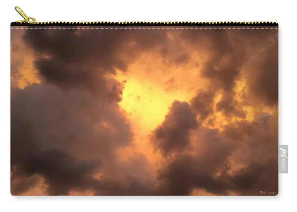 Thunderous Sunset Carry-all Pouch