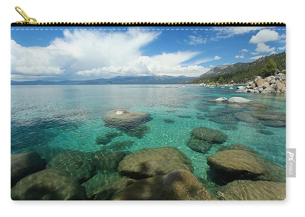 Carry-all Pouch featuring the photograph Thundershower Eye Candy by Sean Sarsfield