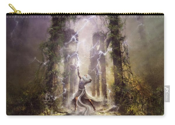 Thunderstorm Wizard Carry-all Pouch