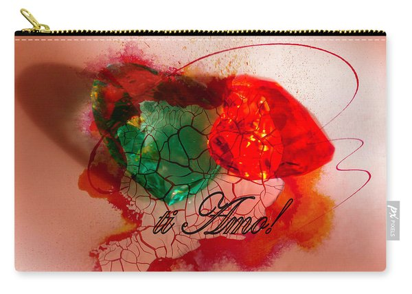 Ti Amo Too Carry-all Pouch