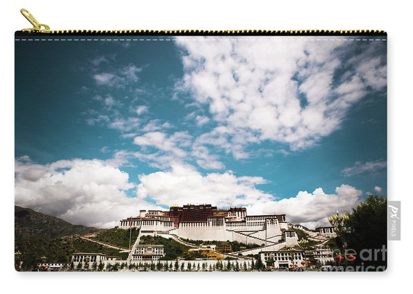 Tibet Potala Palace Dalai Lama Home Place. Kailash Yantra.lv 2016  Carry-all Pouch