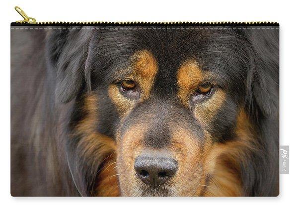 Tibetan Herding Dog Portrait Carry-all Pouch