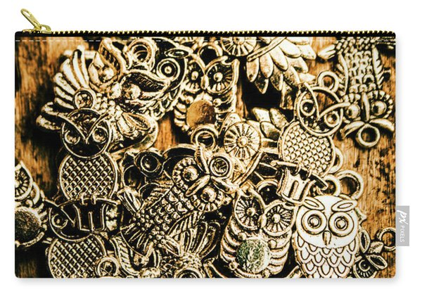 Tibetan Owl Charms Carry-all Pouch