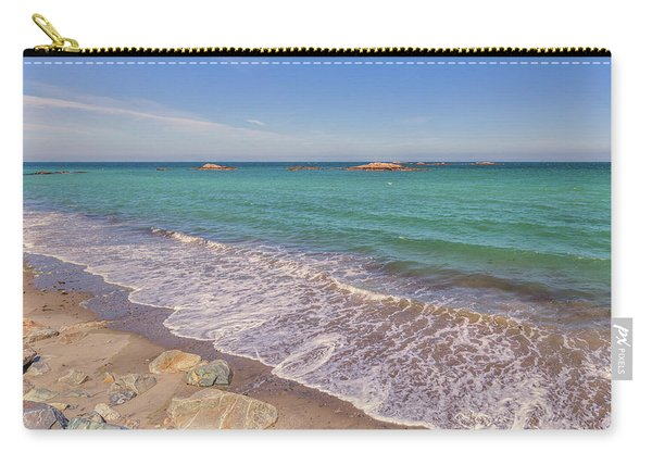 Tide Change At Minot Beach In Scituate Massachusetts Carry-all Pouch