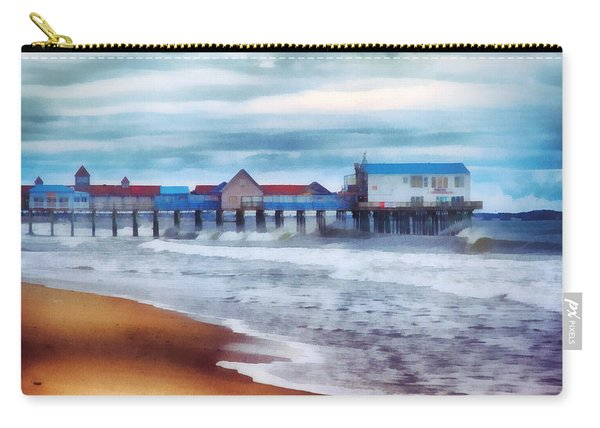 Tide Coming In Orchard Beach Maine Carry-all Pouch