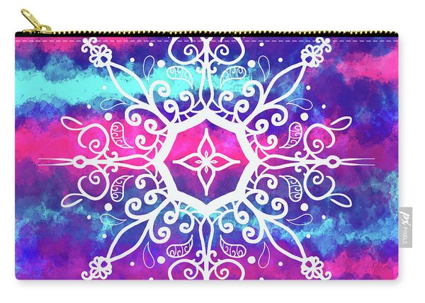 Tie Dye Mandala  Carry-all Pouch