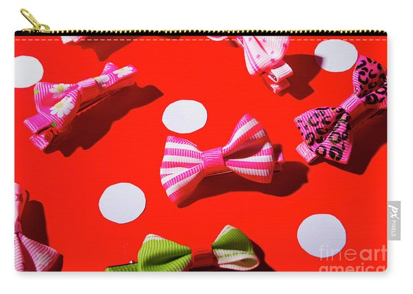 Ties To Fashion Carry-all Pouch