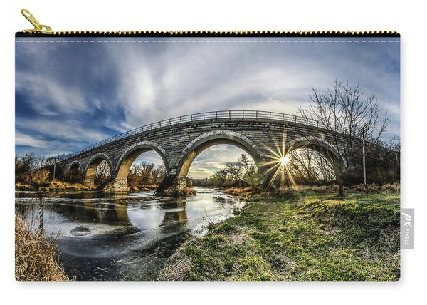 Tiffany Bridge Panorama Carry-all Pouch