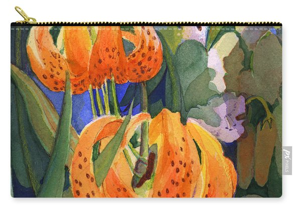 Tiger Lily Parachutes Carry-all Pouch