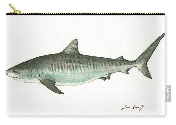 Tiger Shark,  Carry-all Pouch