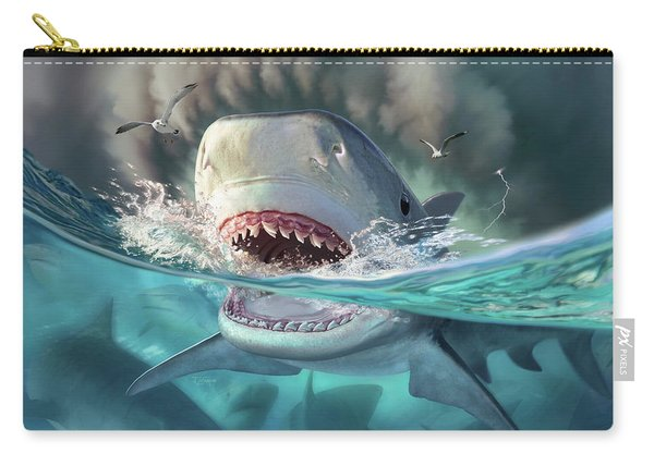 Tiger Sharks Carry-all Pouch