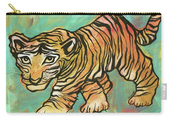 Tiger Trance Carry-all Pouch