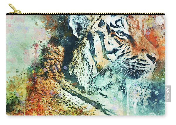 Tiger Waters Carry-all Pouch