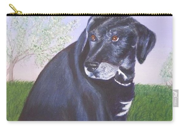 Tiko, Lovable Family Pet. Carry-all Pouch