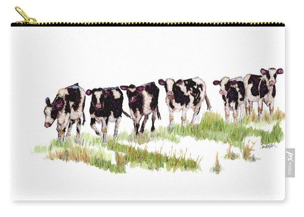 Till The Cows... Carry-all Pouch