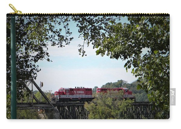 Timber Trestle Bridge Carry-all Pouch