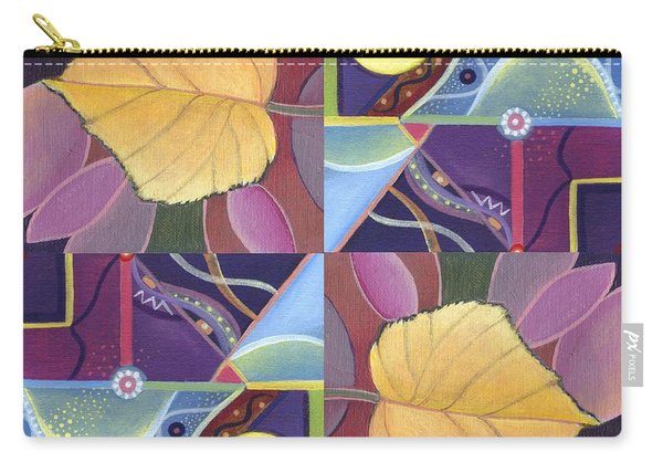 Time Goes By - The Joy Of Design Series Arrangement Carry-all Pouch