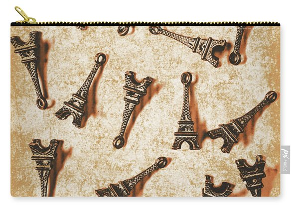 Time Worn Trinkets From Vintage Paris Carry-all Pouch