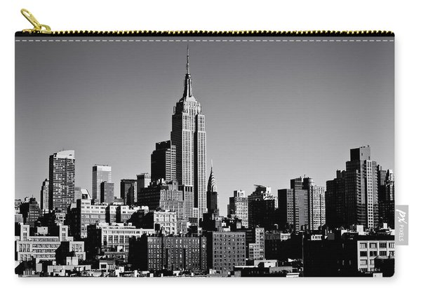 Timeless - The Empire State Building And The New York City Skyline Carry-all Pouch