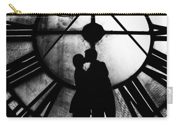 Timeless Love - Black And White Carry-all Pouch