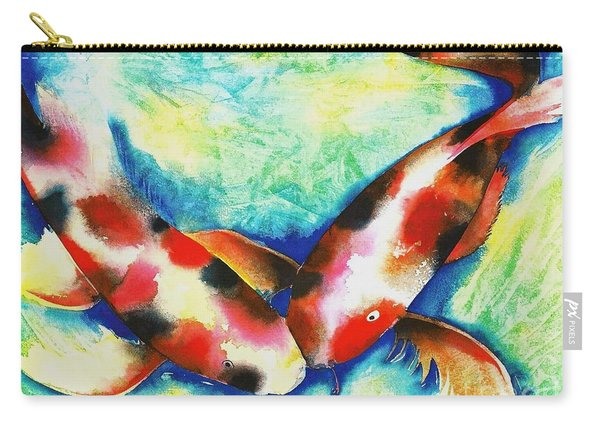 Timeless Love Carry-all Pouch