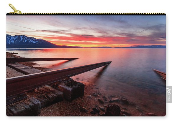 Timeless Sunset Launch Into Tahoe Carry-all Pouch