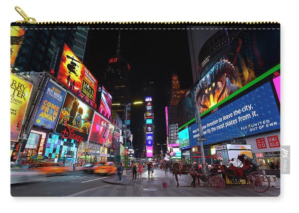 Times Square Carriage Carry-all Pouch