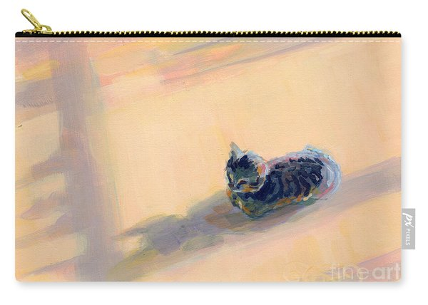 Tiny Kitten Big Dreams Carry-all Pouch