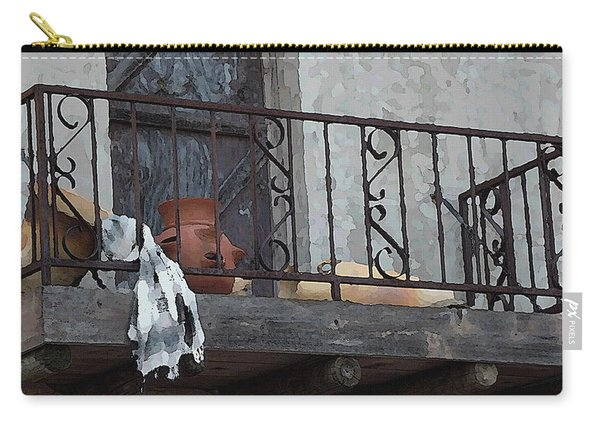 Tiny Southwest Balcony Carry-all Pouch
