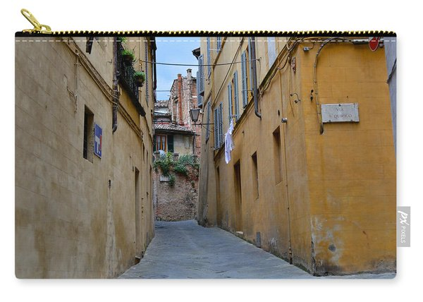Tiny Street In Siena Carry-all Pouch
