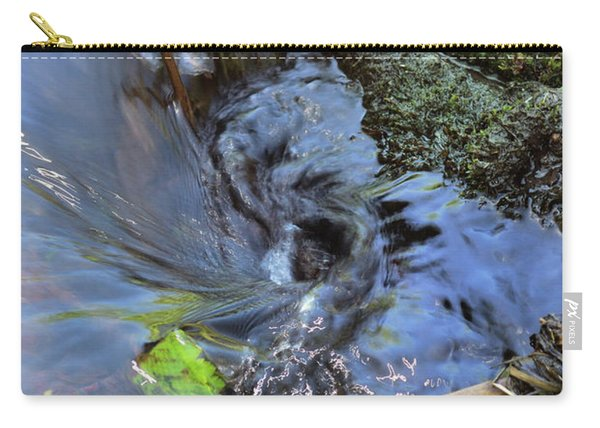 Tiny Whirlpool Carry-all Pouch