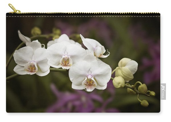 Tiny White Dancers Carry-all Pouch