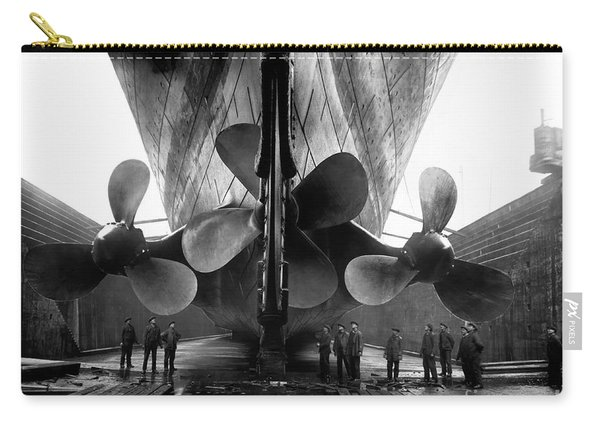 Titanic Propellers Carry-all Pouch