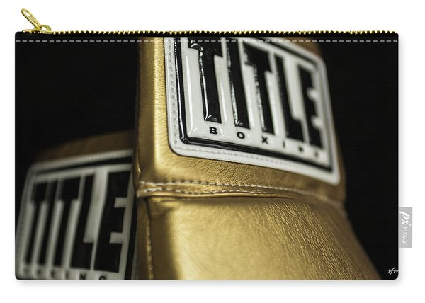 Title Boxing Gloves Carry-all Pouch