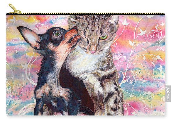 Tito And The Fonz Carry-all Pouch