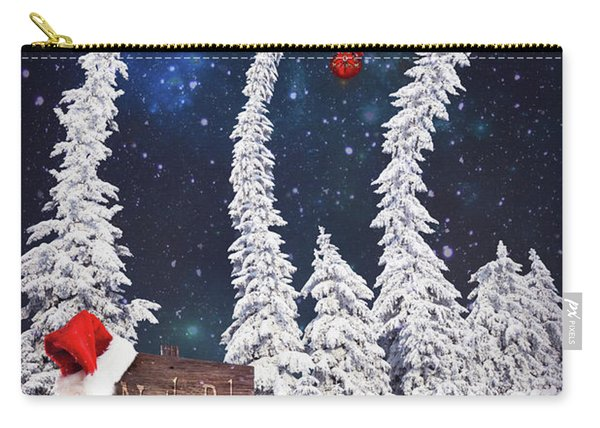 To The North Pole Carry-all Pouch