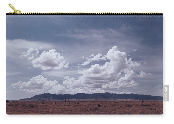 To The Sierra Blanca Carry-all Pouch