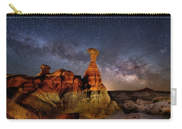 Toadstool Milky Way Carry-all Pouch