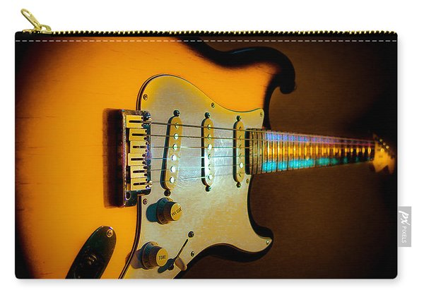 Tobacco Burst Stratocaster Glow Neck Series Carry-all Pouch
