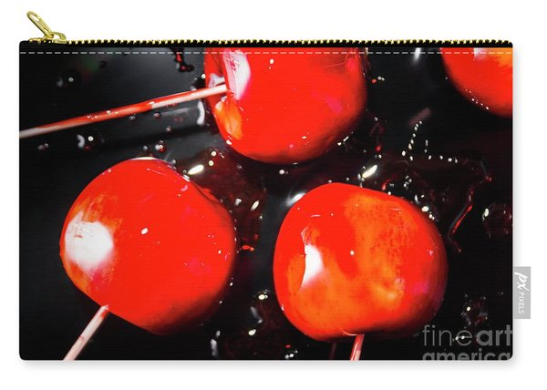 Toffee Apple Splash. Fine Art Food Carry-all Pouch