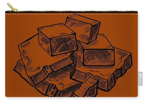 Toffee Fudge And Caramel  Carry-all Pouch
