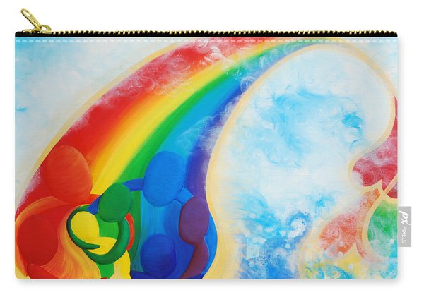 Together We Are Gold Embracing Our Differences  Carry-all Pouch