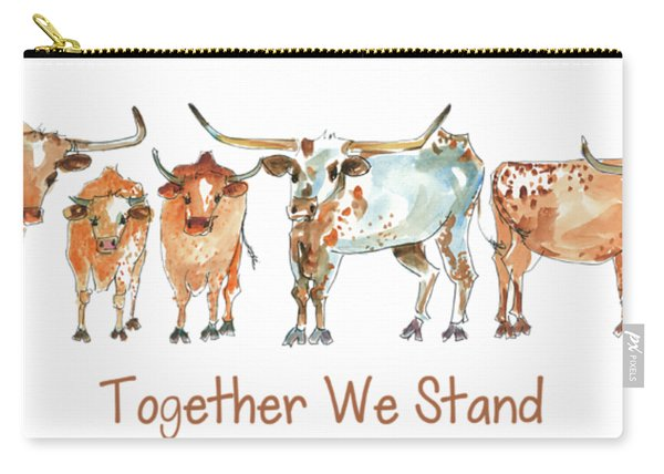 Together We Stand Lh013 Carry-all Pouch
