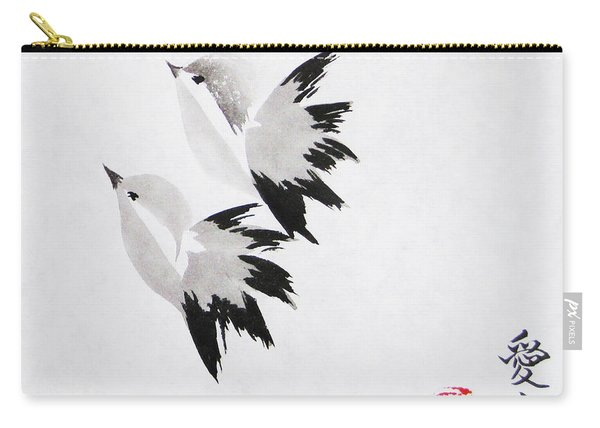 Together We'll Fly Side By Side Carry-all Pouch