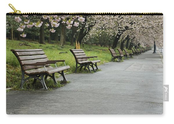 Tokyo Cherry Blossoms  Carry-all Pouch