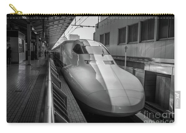 Tokyo To Kyoto Bullet Train, Japan 3 Carry-all Pouch